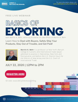Basics Of Exporting (International Trade)
