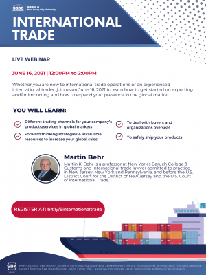 International Trade for Small Business