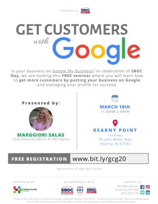 Get Customers with Google @ Kearny Point