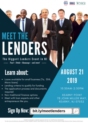 Meet The Lenders - Learn how to get a Business Loan directly from the Lenders! @ Kearny Point