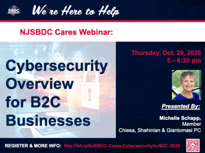Cybersecurity Overview for B2C Businesses Webinar