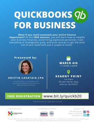 QuickBooks for Business @ Kearny Point