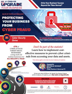 Protecting Your Business from Cyber Fraud Webinar