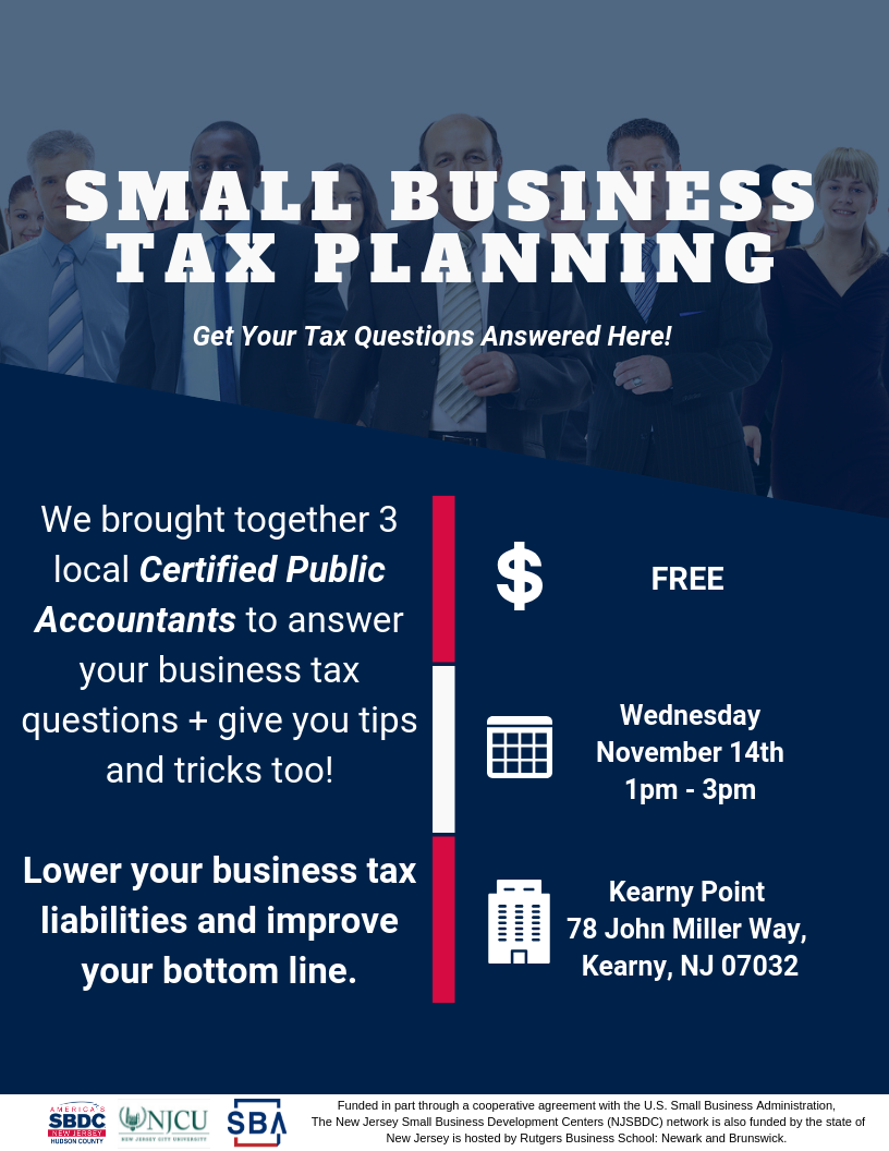 Small Business Tax Planning A Cpa Forum Small Business