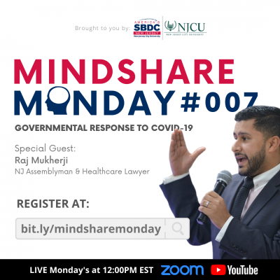 Mindshare Monday #007: Governmental Response to COVID-19 @ Zoom Link