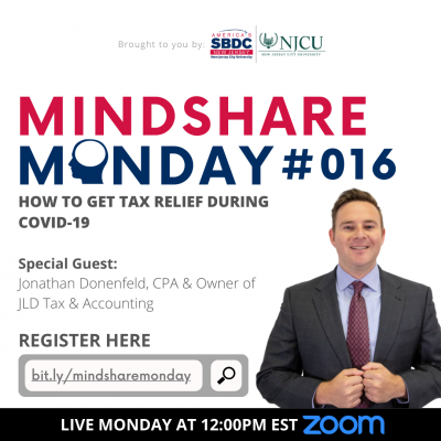 Mindshare Monday #016: How To Get Tax Relief During COVID-19