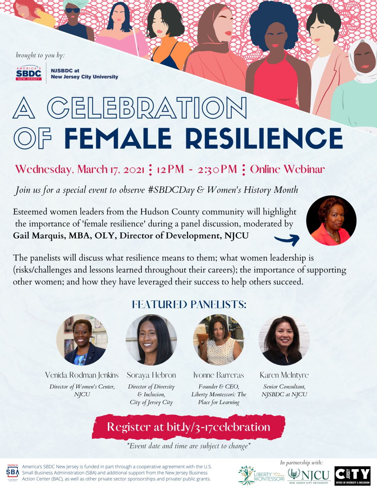 A Celebration of Female Resilience @ Zoom