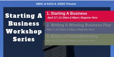Starting a Business Workshop Series (Part 1/3) - Learn how to go from 0 to entrepreneur. @ Jersey City- City Hall