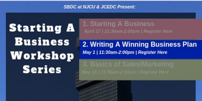 Starting a Business Workshop Series (Part 2/3) - Learn A to Z how to write your best business plan. @ Jersey City- City Hall