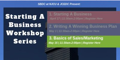 Starting a Business Workshop Series (Part 3/3) - Learn how to do more business in 2019. @ Jersey City - City Hall