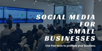 Social Media for Small Businesses: Learn how to use free tools to promote your business. @ TBD