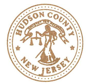 Hudson County New Jersey Official Seal