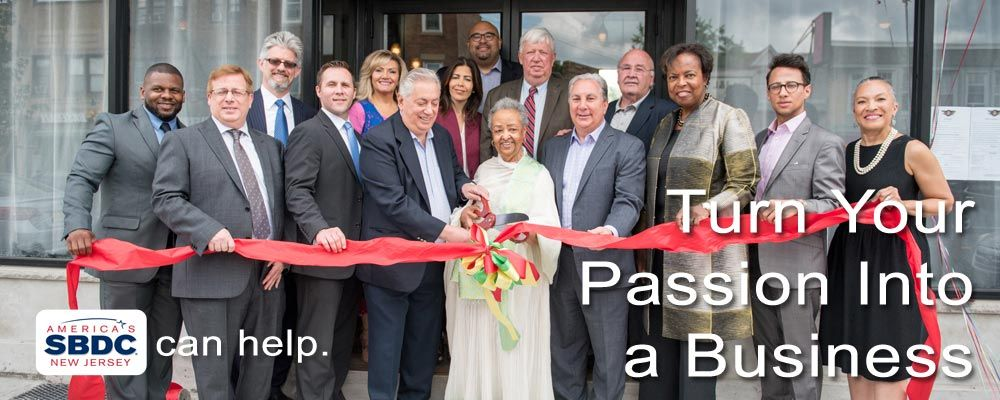 Turn Your Passion into a Business. America's Small Business Development Center New Jersey can help.
